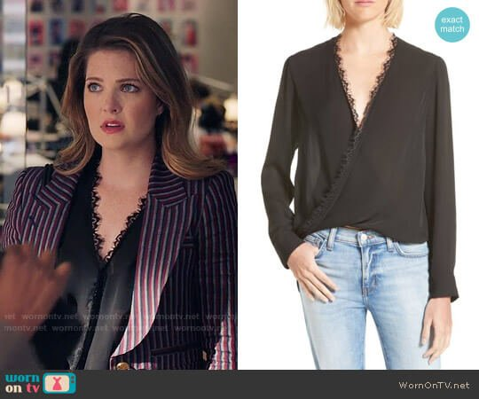 L'Agence Rosario Blouse worn by Sutton (Meghann Fahy) on The Bold Type