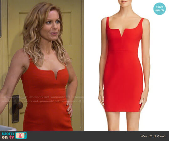 Likely Constance Dress worn by DJ Tanner-Fuller (Candace Cameron Bure) on Fuller House