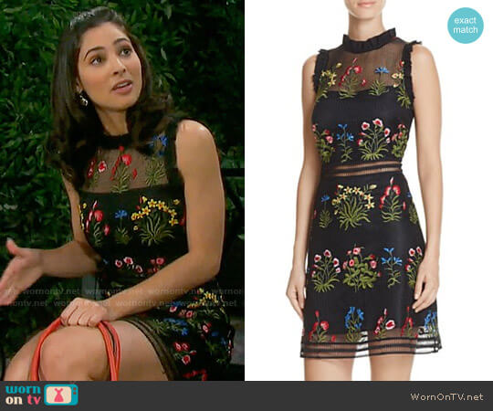 Lucy Paris Gabby Dress worn by Gabi Hernandez (Camila Banus) on Days of our Lives