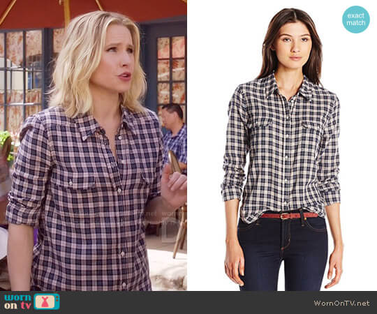 Paige Trudy Shirt worn by Kristen Bell on The Good Place
