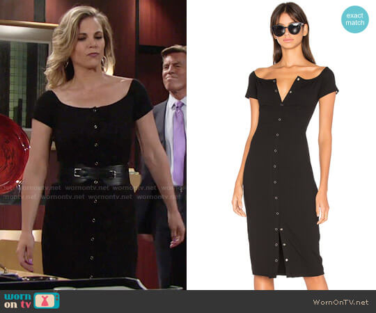 Privacy Please Rue Dress worn by Gina Tognoni on The Young & the Restless