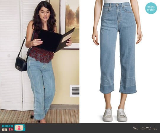 Rag & Bone Lou Crop Jeans worn by Sofia Black D'Elia on The Mick