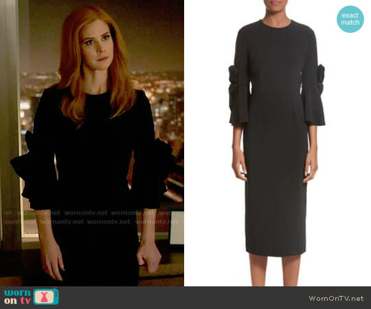 Roksanda Lavete Dress worn by Sarah Rafferty on Suits