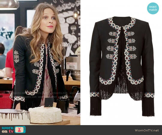 Talitha Zoe Jacket worn by Phoebe Wells (Beau Garrett) on GG2D
