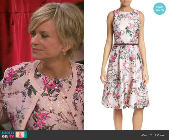 Ted Baker Clarbel Dress worn by Mary Beth Evans on Days of our Lives