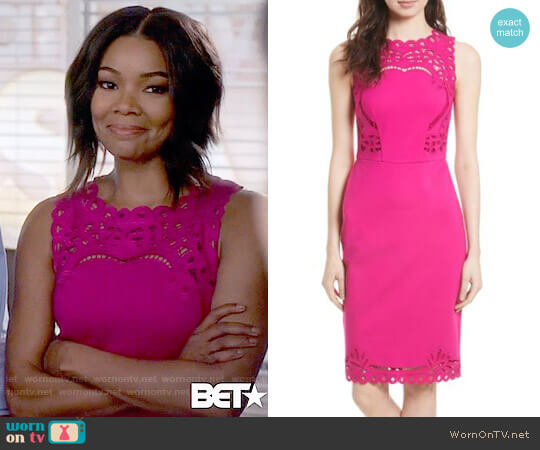 Ted Baker Verita Dress worn by Mary Jane Paul (Gabrielle Union) on Being Mary Jane