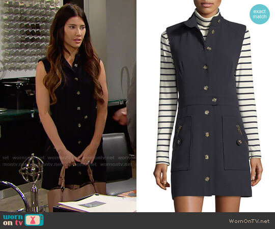 Veronica Beard Leigh Dress worn by Jacqueline MacInnes Wood on The Bold & the Beautiful