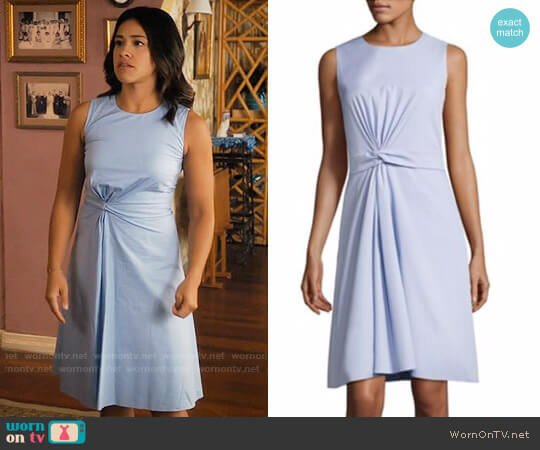 BOSS Digiana Dress worn by Jane Villanueva (Gina Rodriguez) on Jane the Virgin