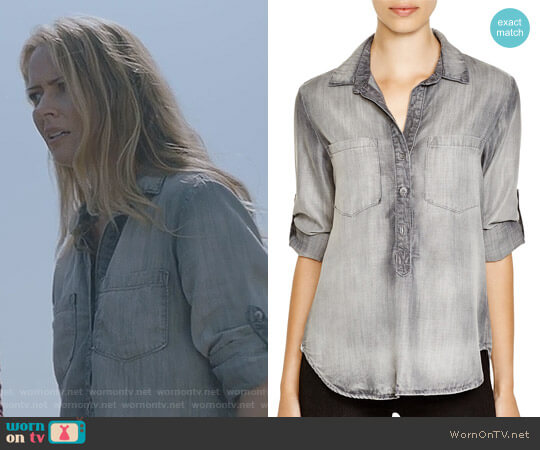 Pullover Top by Bella Dahl worn by Amy Acker on The Gifted