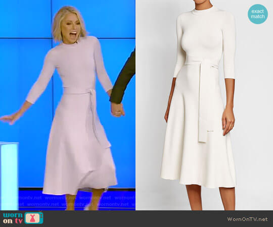 Knit Dress by Brock Collection worn by Kelly Ripa on Live with Kelly & Ryan