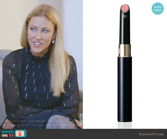 Enriched Lip Luminizer - Ginger Cookie 216 by Cle de Peau Beaute worn by Stephanie Hollman  on The Real Housewives of Dallas