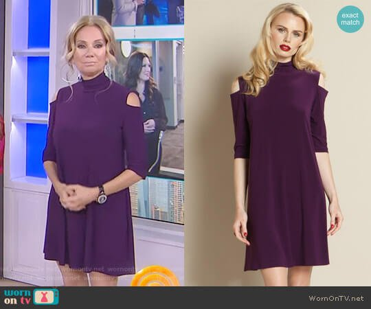 Cold Shoulder Dress by Clara Sunwoo worn by Kathie Lee Gifford on Today