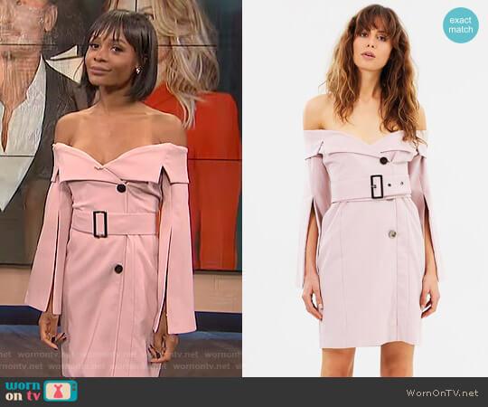 'Renoir' Dress by Elliatt worn by Zuri Hall on E! News