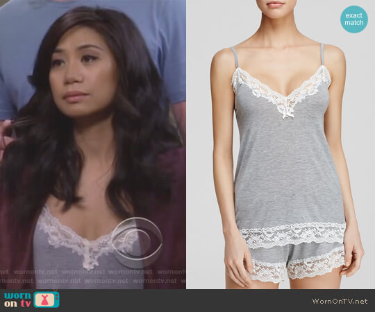 Snuggle Knit Cami by Flora Nikrooz worn by Eve Roberts (Liza Lapira) on 9JKL