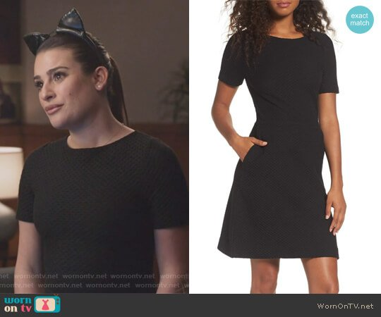 Dixie Fit & Flare Dress by French Connection worn by Valentina Barella (Lea Michele) on The Mayor