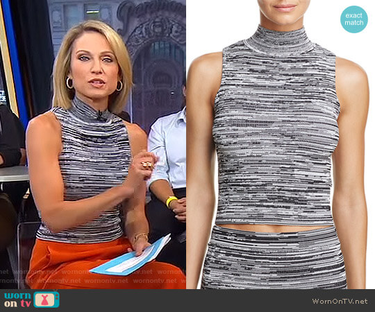 'Kaya' Top by Guess worn by Amy Robach on Good Morning America