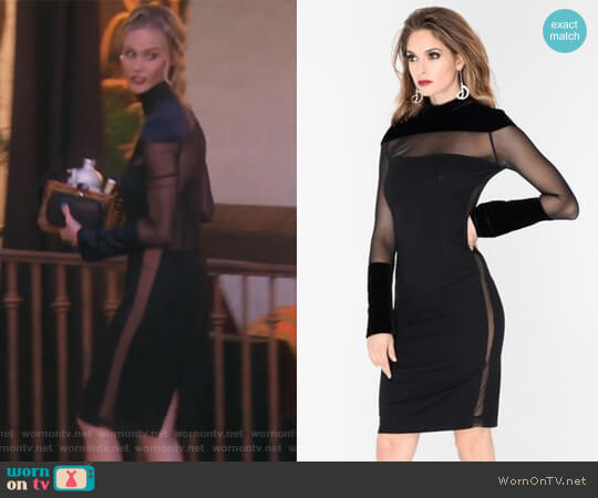 Dolce Dress by J. Dosi worn by Meghan King Edmonds on The Real Housewives of Orange County