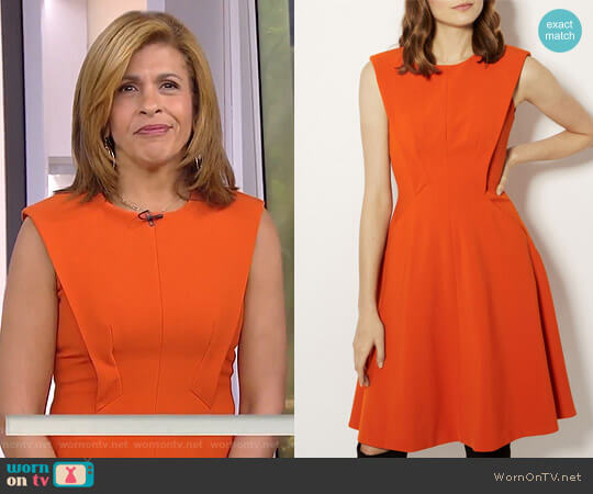 Panelled A-Line Dress by Karen Millen worn by Hoda Kotb on Today