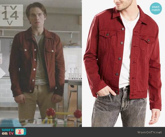 Men's Trucker Jacket by Levis worn by Liam Dunbar (Dylan Sprayberry) on Teen Wolf