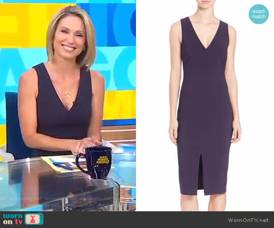 'Park' Dress by Likely worn by Amy Robach  on Good Morning America