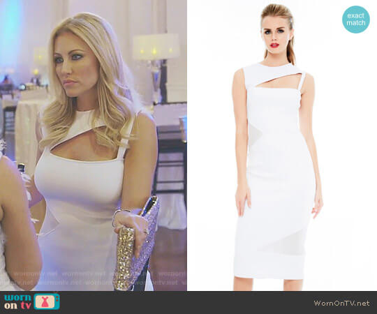 'Effy' Dress by Lizna worn by Stephanie Hollman on The Real Housewives of Dallas