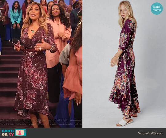 Calliope Dress by Love Stitch worn by Wendy Williams on The Wendy Williams Show