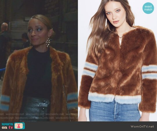 Long Boxy Jacket by Mother worn by Portia Scott-Griffith (Nicole Richie) on Great News