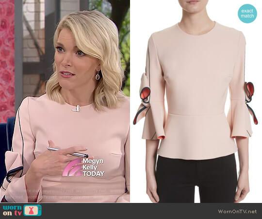 'Kemi' Top by Roksanda worn by Megyn Kelly on Today