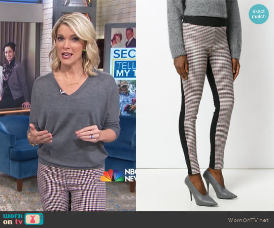Wornontv Megyns Contrast Check Pants On Megyn Kelly Today Megyn