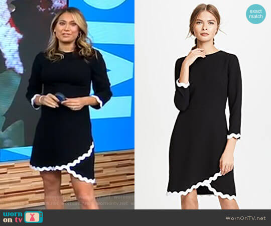'Sutter' Dress by Shoshanna worn by Ginger Zee  on Good Morning America
