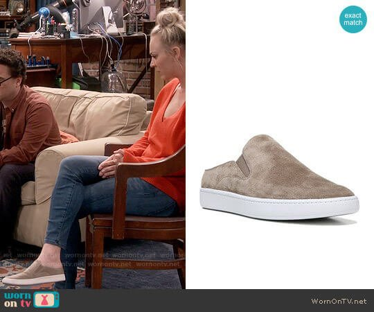 Vince Verrell Slip On Sneaker worn by Kaley Cuoco on The Big Bang Theory