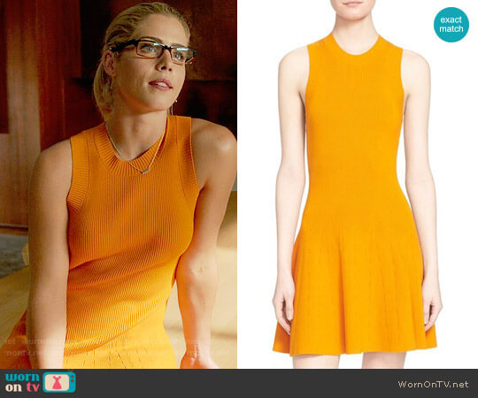 ALC Rory Dress worn by Emily Bett Rickards on Arrow