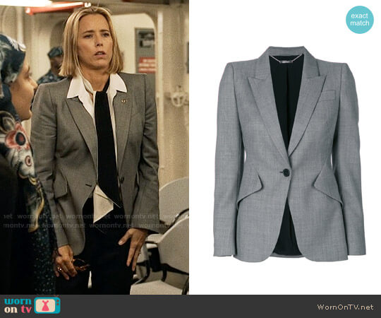 Alexander McQueen Tailored Blazer worn by Téa Leoni on Madam Secretary