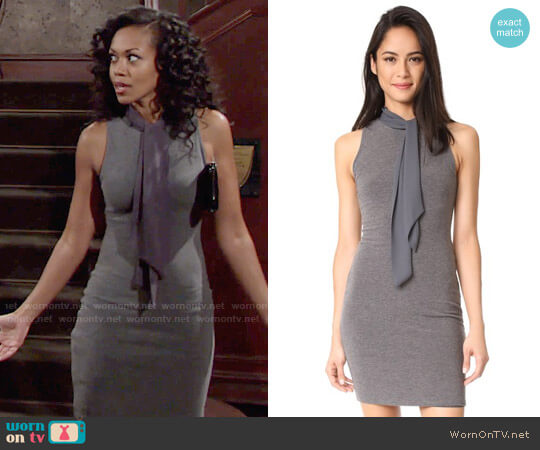 Alice + Olivia Mary Dress worn by Hilary Curtis (Mishael Morgan) on The Young & the Restless