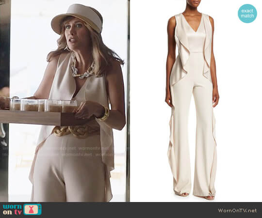 Alice + Olivia Sarandon Jumpsuit worn by Kristen Wiig on Last Man On Earth