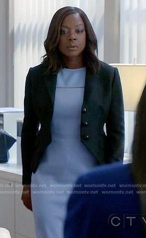 Annalise's lilac dress on How to Get Away with Murder
