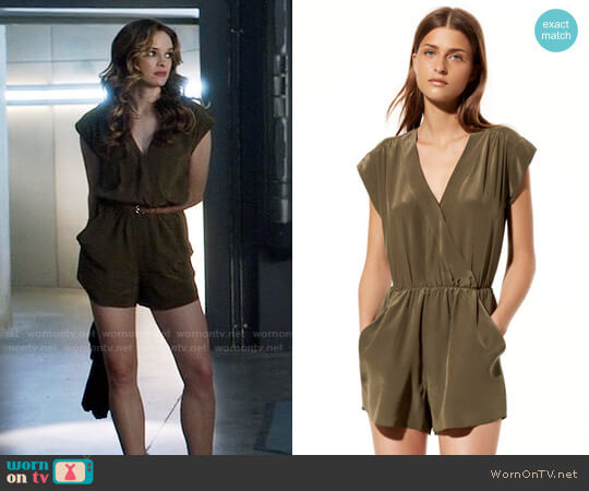 Babaton Corbett Romper worn by Caitlin Snow (Danielle Panabaker) on The Flash