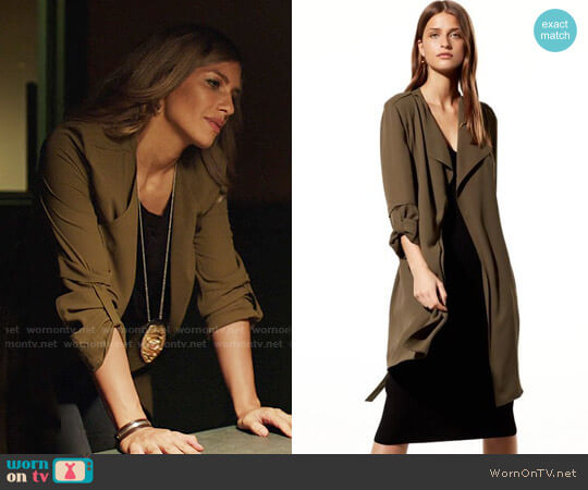Babaton Quincey Jacket worn by Dinah Drake (Juliana Harkavy) on Arrow