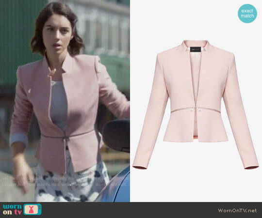 Bcbgmaxazria Barrett Jacket worn by Adelaide Kane on OUAT