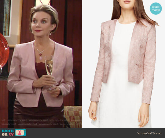 Bcbgmaxazria Flynn Jacket worn by Judith Chapman on The Young & the Restless
