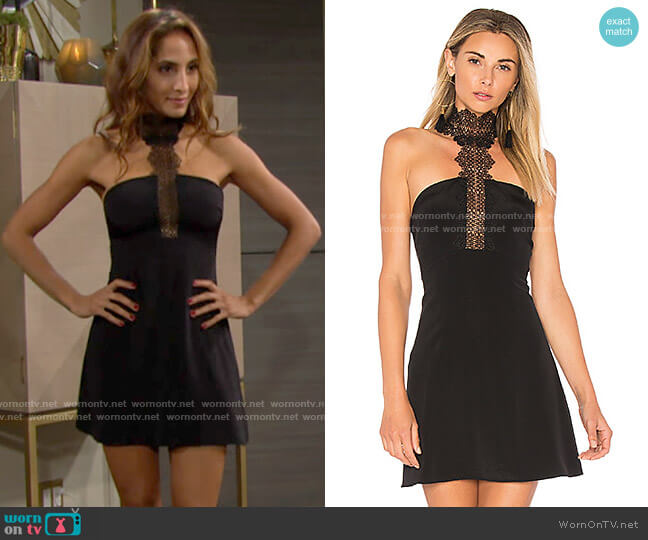 Cami NYC The Callie Dress worn by Lily Winters (Christel Khalil) on The Young & the Restless