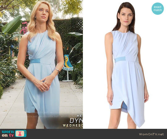 Carven Half Belt Dress worn by Petra Solano (Yael Grobglas) on Jane the Virgin