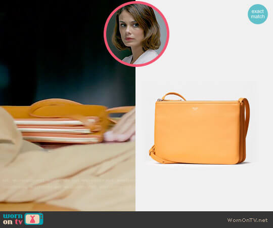 Celine Trio Bag worn by Nathalie Kelley on Dynasty