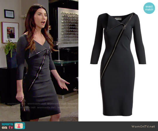 Chiara Boni La Petite Robe Dianthe Dress worn by Jacqueline MacInnes Wood on The Bold & the Beautiful