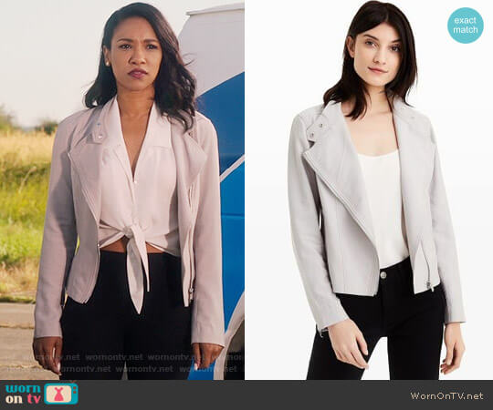 Club Monaco Tovah Jacket worn by Iris West (Candice Patton) on The Flash