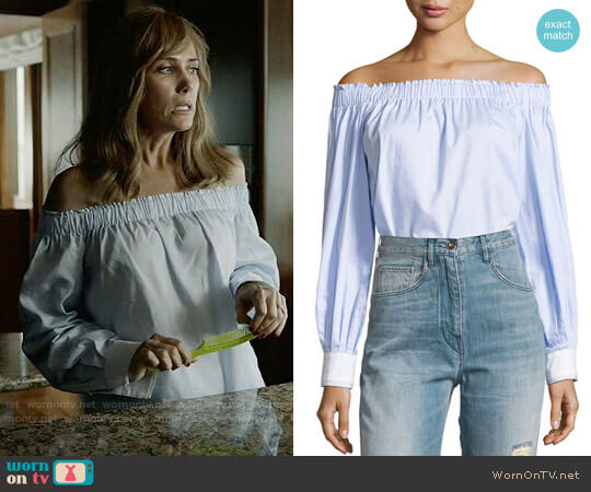 Elizabeth & James Geneva Top worn by Kristen Wiig on Last Man On Earth