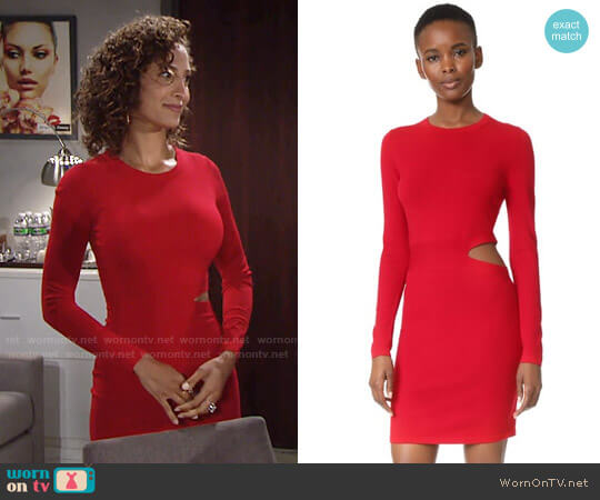 Elizabeth and James Railey Dress worn by Christel Khalil on The Young & the Restless