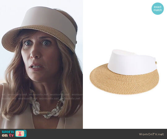 Eric Javits 'Squishee Champ' Custom Fit Visor worn by Kristen Wiig on Last Man On Earth