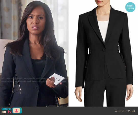Escada Bakara Jacket worn by Olivia Pope (Kerry Washington) on Scandal