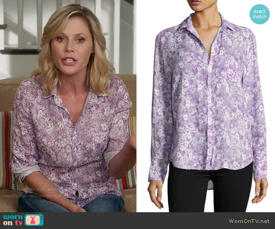 Frank & Eileen Floral Print Shirt worn by Claire Dunphy (Julie Bowen) on Modern Family